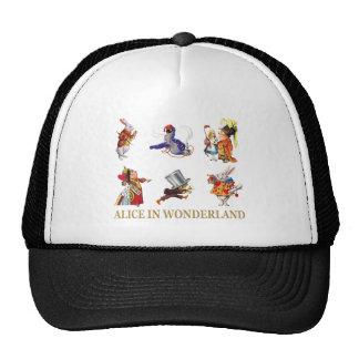 Alicia y amigos en el país de las maravillas gorra