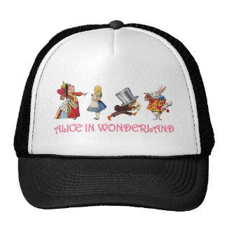 Alicia y amigos en el país de las maravillas gorras de camionero