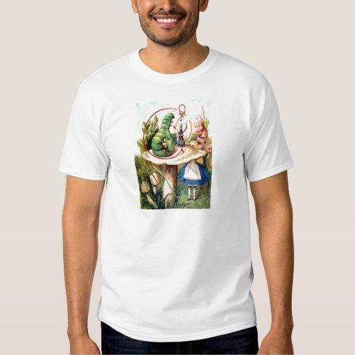 Alicia y Caterpillar en el país de las maravillas Camisas