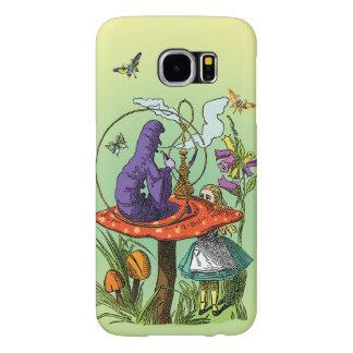 Alicia y Caterpillar en el país de las maravillas Fundas Samsung Galaxy S6