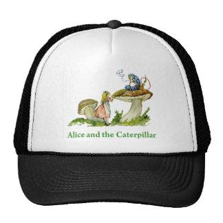 Alicia y Caterpillar Gorro
