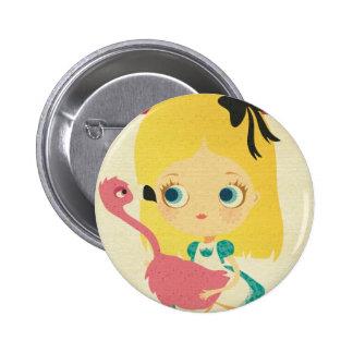 Alicia y el botón del Pin del flamenco