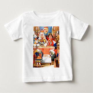 Alicia y el bribón de los corazones de ensayo en t-shirt