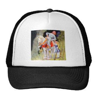 Alicia y el caballero blanco en el país de las gorras de camionero