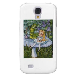 Alicia y el Catapillar Samsung Galaxy S4 Cover