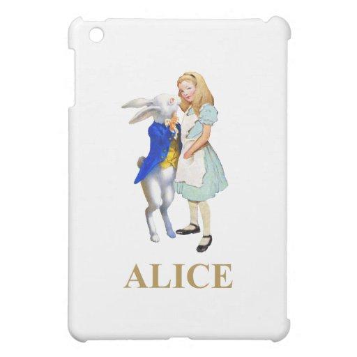 Alicia y el conejo blanco en el país de las maravi