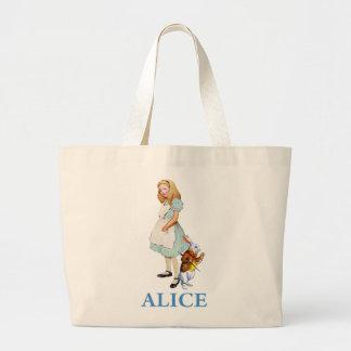 Alicia y el conejo blanco en el país de las maravi bolsas