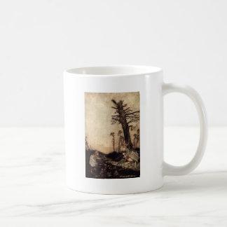 Alicia y el conejo blanco taza de café