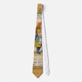 Alicia y el dedal corbata