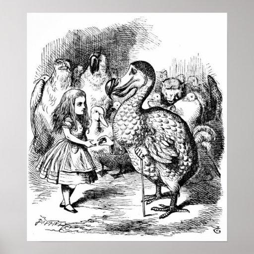 Alicia y el Dodo Póster
