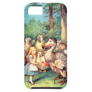 Alicia y el pájaro del Dodo en el país de las Funda Para iPhone SE/5/5s