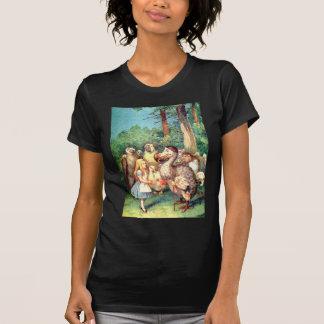 Alicia y el pájaro del Dodo en el país de las mara Camisetas