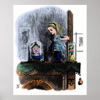 Alicia y el poster del espejo