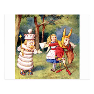 Alicia y el rey blanco en el país de las tarjetas postales