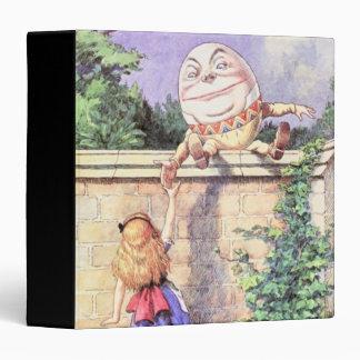 """Alicia y Humpty Dumpty en a todo color Carpeta 1 1/2"""""""