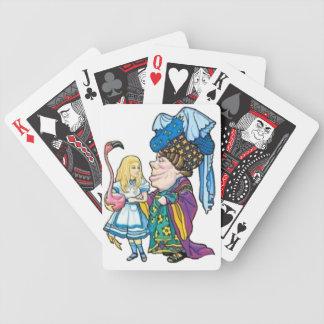 Alicia y la duquesa Color Barajas De Cartas