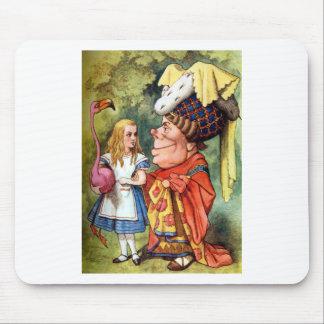 Alicia y la duquesa Play Flamingo Croquet Tapete De Raton
