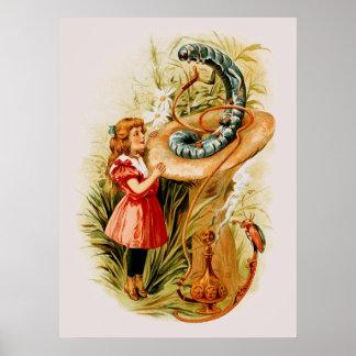 Alicia y la impresión de Caterpillar (en 22