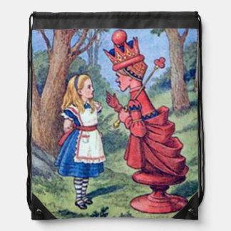 Alicia y la mochila roja de la reina