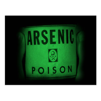 Alicia's Choice - Arsenic in Green Postcard