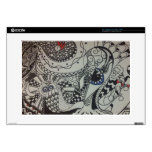 "alicia's spiritual art 15"" laptop decal"