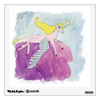 Alicorn Winged Pink Pony Horse Wall Sticker