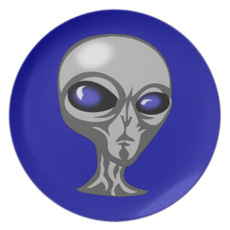 alien-155120  alien angry cosmic extraterrestrial party plates
