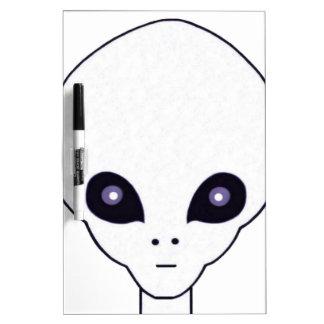 Alien #1 Dry-Erase board