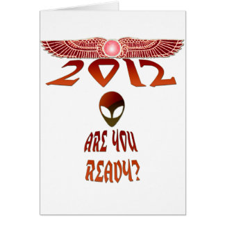 Alien 2012 Are You Ready? Card