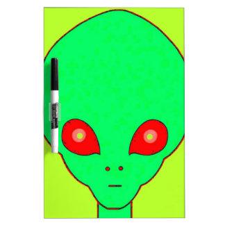 Alien #2 Dry-Erase board