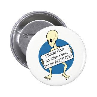 Alien 2 Inch Round Button