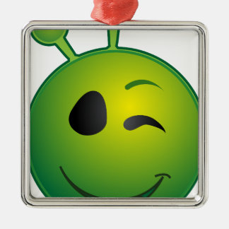 alien-41626 metal ornament