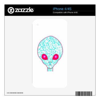 Alien #4 iPhone 4S decal