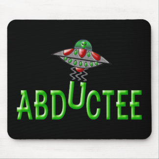 Alien Abductee Mouse Pad