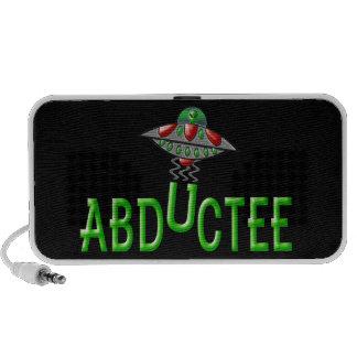 Alien Abductee Portable Speakers