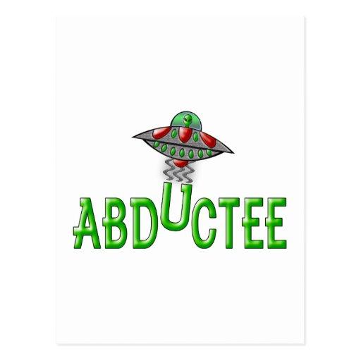 Alien Abductee Postcards
