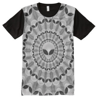 Alien Abduction All-Over-Print Shirt