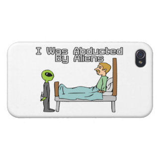 Alien Abduction Cover For iPhone 4