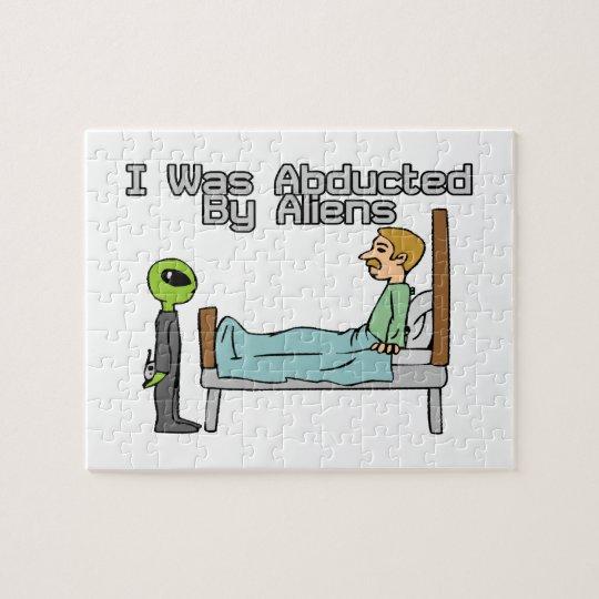 Alien Abduction Jigsaw Puzzle