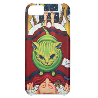 Alien Abduction or Cat Owner? Cover For iPhone 5C