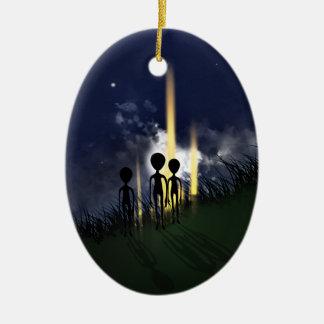 Alien Abduction Ornament