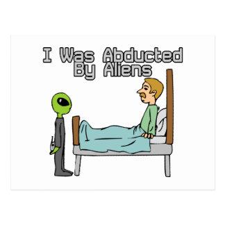 Alien Abduction Post Cards