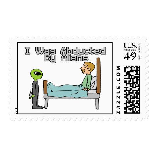 Alien Abduction Postage