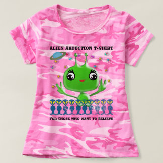 Alien Abduction Tee For Those Who Want to Believe