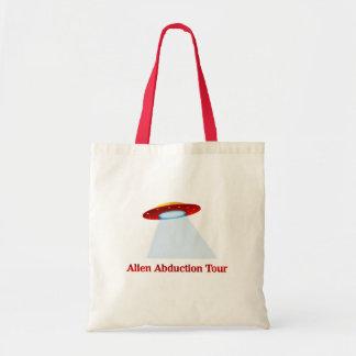Alien Abduction Tour Canvas Bags