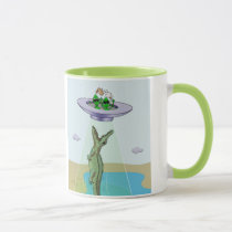Alien Abduction Trauma Mug