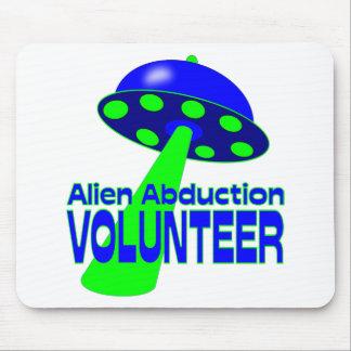 Alien Abduction Volunteer Mouse Pad