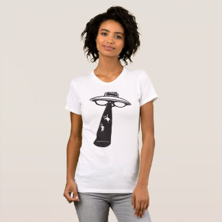 Alien Abduction Womens T-Shirt