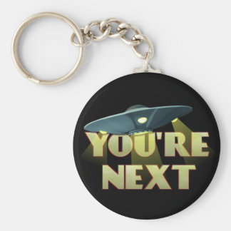 Alien Abduction, You Are Next Keychain