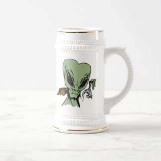 Alien Abductions Of Mice Beer Stein